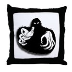 Ghoul Halloween Throw Pillow