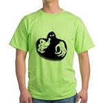 Ghoul Halloween Green T-Shirt