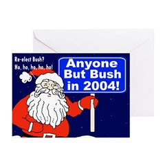 Anyone But Bush Greeting Cards (6 Cards)