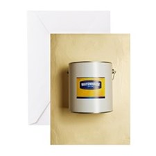 Mayonnaise in paint tub Greeting Cards (Pk of 20)