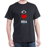 Eye Love NOLA (brown) T-Shirt