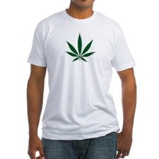 Marijuana Leaf Green Shirt