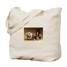 Basset Wedding Tote Bag