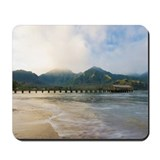 Hanalei pier at sunrise, Kauai Mousepad
