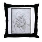 Voltaire by Paul Yaeger Throw Pillow