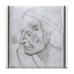 Voltaire by Paul Yaeger Tile Coaster