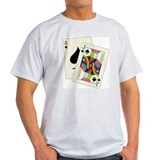 Blackjack Ash Grey T-Shirt