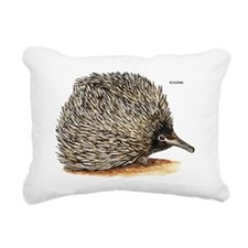 Echidna Spiny Animal Rectangular Canvas Pillow