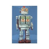 Robot Rectangle Magnet (10 pack)