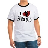 I Heart Skater Girls T