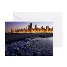 USA, Illinois, Chicago,  Greeting Cards (Pk of 20)