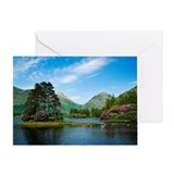 Loch in Glen Etive Greeting Card