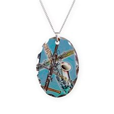 Wind instruments Necklace