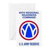 89th Regional Readiness Command Greeting Cards (6)