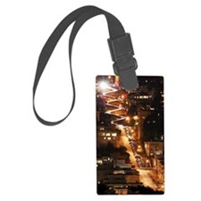 Lombard lights Luggage Tag