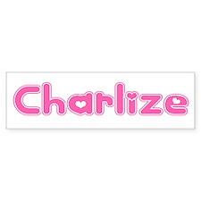 """Charlize"" Bumper Bumper Sticker"