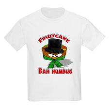 """""""FruitCake Bah Humbug!"""" Kids T-Shirt"""