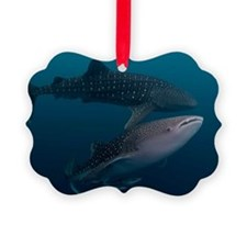 Two whale sharks Ornament