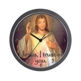 Divine Mercy Wall Clock
