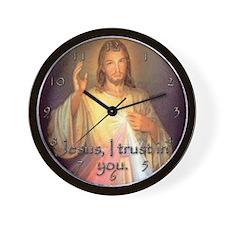 Divine Mercy Wall Clock