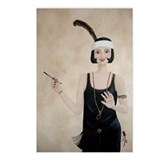 StephanieAM Flapper Postcards (Package of 8)