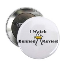 "Banned Movies! 2.25"" Button (10 pack)"