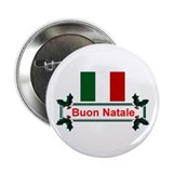 "Italian Buon Natale 2.25"" Button (10 pack)"