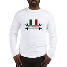 Italian Buon Natale Long Sleeve T-Shirt