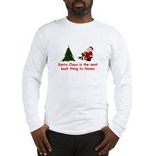 Santa Claus vs Nonno Long Sleeve T-Shirt