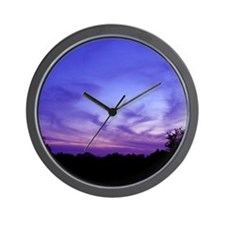 Kentucky Sunset Wall Clock