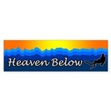Heaven Below 2 Bumper  Bumper Sticker