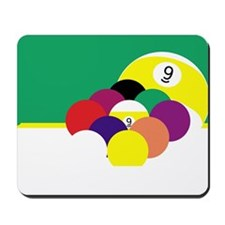 9 Ball 5 Mousepad