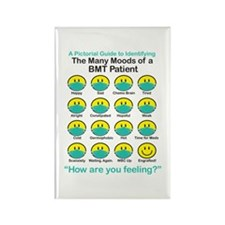 Many Moods Rectangle Magnet (100 pack)