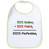 Italian &amp; Polish Bib