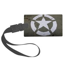 Star on tank Luggage Tag