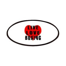Live Love Boxing Patches