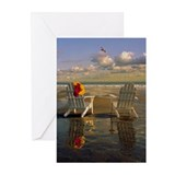 Adirondack chairs on Ken Greeting Cards (Pk of 20)
