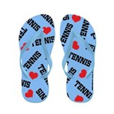 Tennis Player Flip Flops