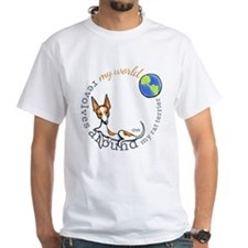 Rat Terrier My World T-Shirt