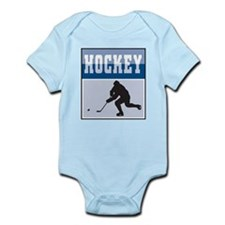 Hockey Poster Infant Bodysuit