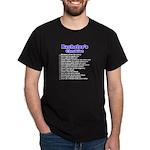 Bachelor Party Check List Dark T-Shirt