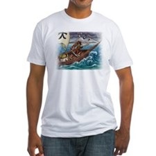 Samurai at Sea fitted T-shirt