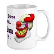 Large Scary Clowns Mug