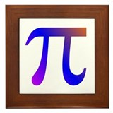 1000 digits of PI -  Framed Tile