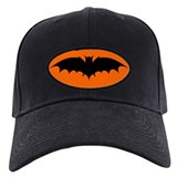 Black Bat Cap
