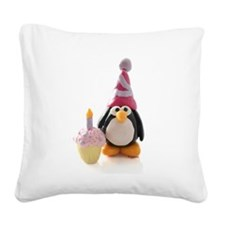 Birthday.jpg Square Canvas Pillow