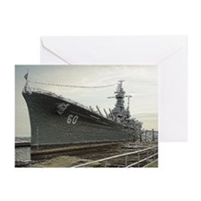 USS ALABAMA Note Cards (6)