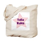 Talia Rules Tote Bag
