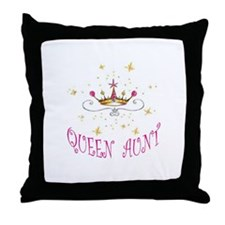 QUEEN AUNT Throw Pillow