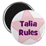 "Talia Rules 2.25"" Magnet (10 pack)"